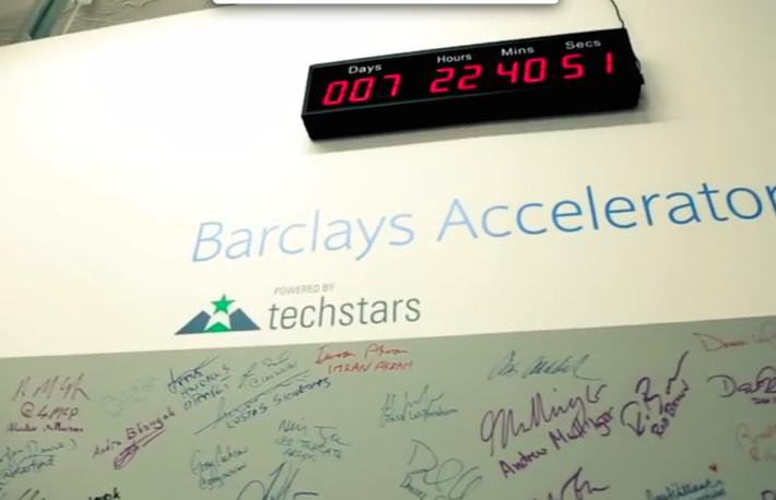 Source: Barclays accelerator