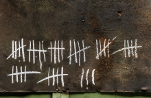 Shutterstock: http://www.shutterstock.com/pic-184631225/stock-photo-counting-with-strikes-on-chalkboard-closeup-photo.html?src=csl_recent_image-1