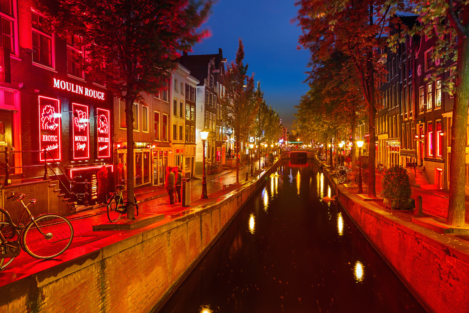 red light district Amsterdam