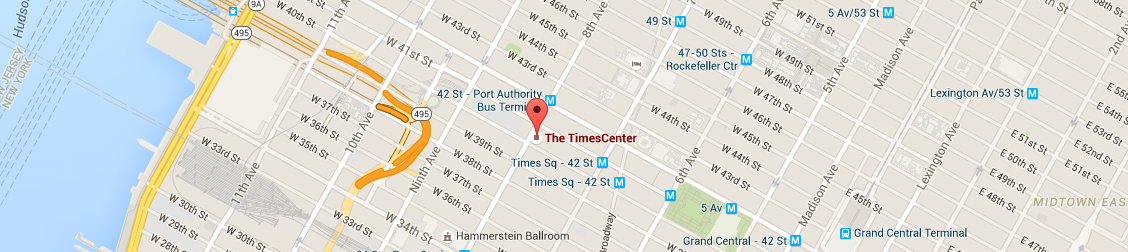 Map for TimesCenter