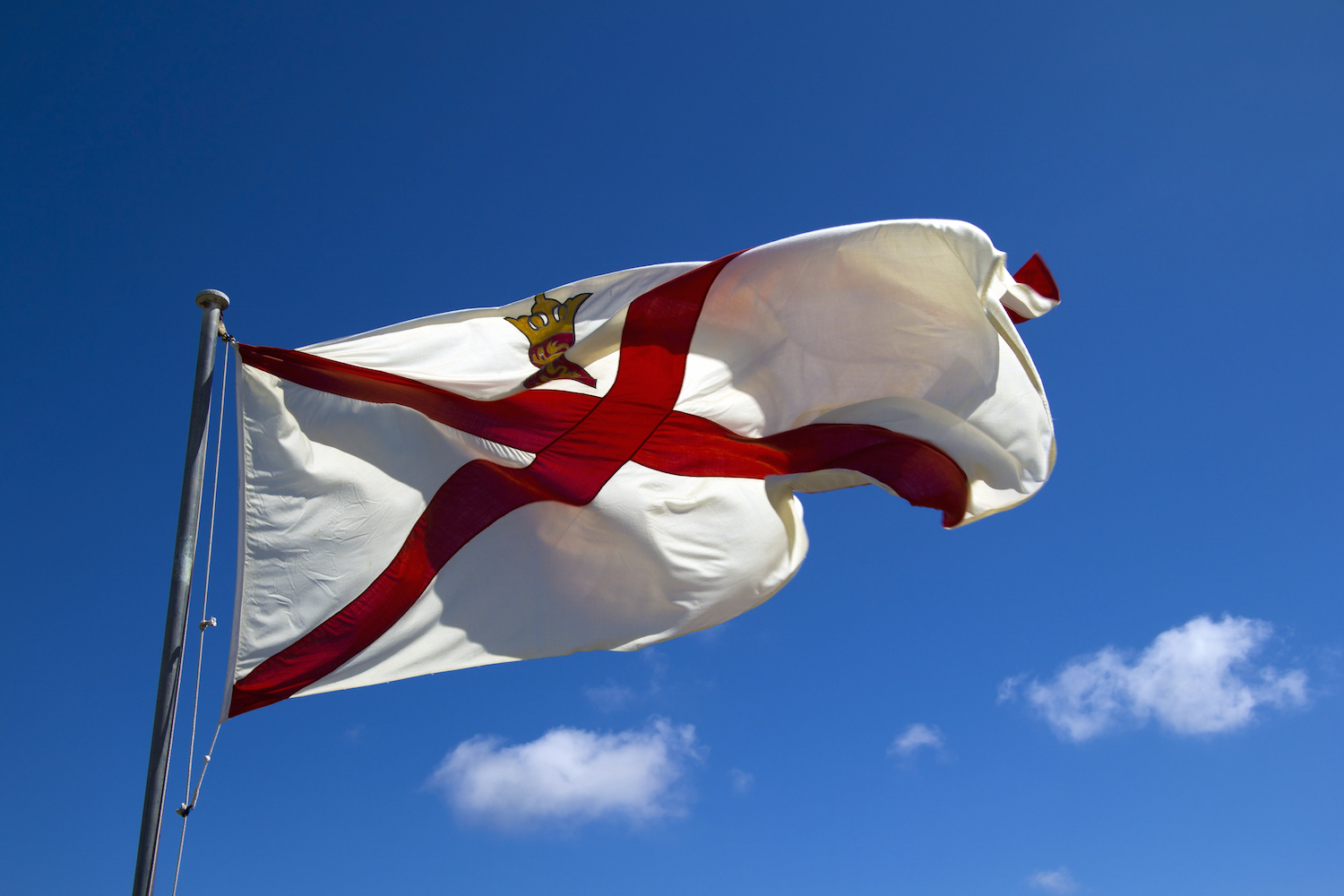 Jersey UK Government flag