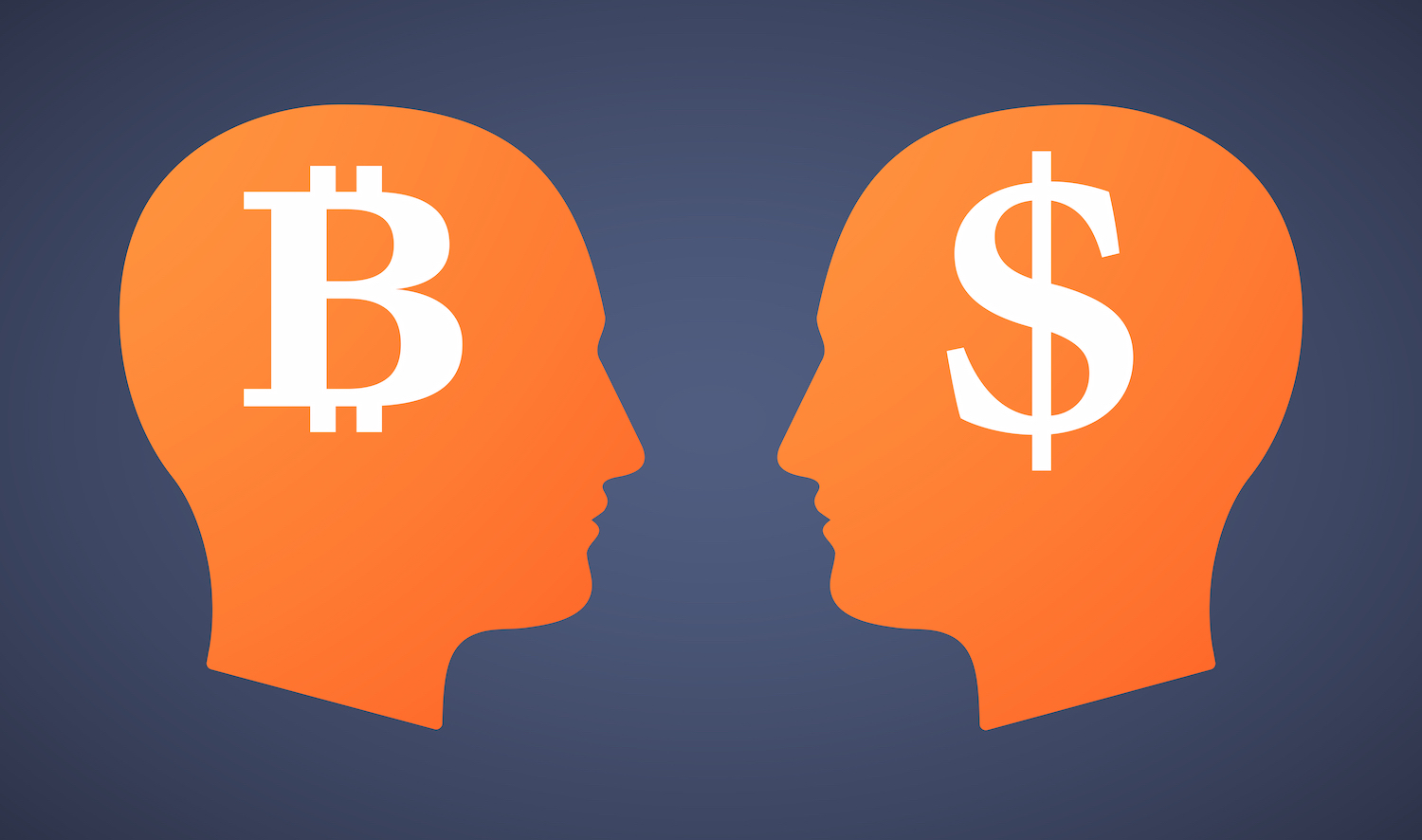 bitcoin and dollars