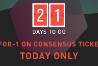 Get 2-for-1 on Consensus 2015 tickets