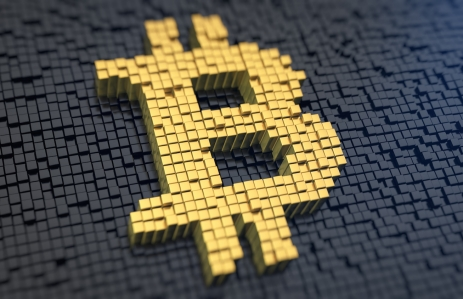 http://www.shutterstock.com/pic-226248583/stock-photo-bitcoin-symbol-of-the-yellow-square-pixels-on-a-black-matrix-background-cryptocurrency-concept.html?src=lxIr0DnzXg5NULV-GBDu-Q-1-10