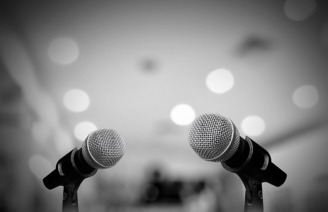 http://www.shutterstock.com/pic-232450051/stock-photo-microphone-isolated-on-grey-room.html