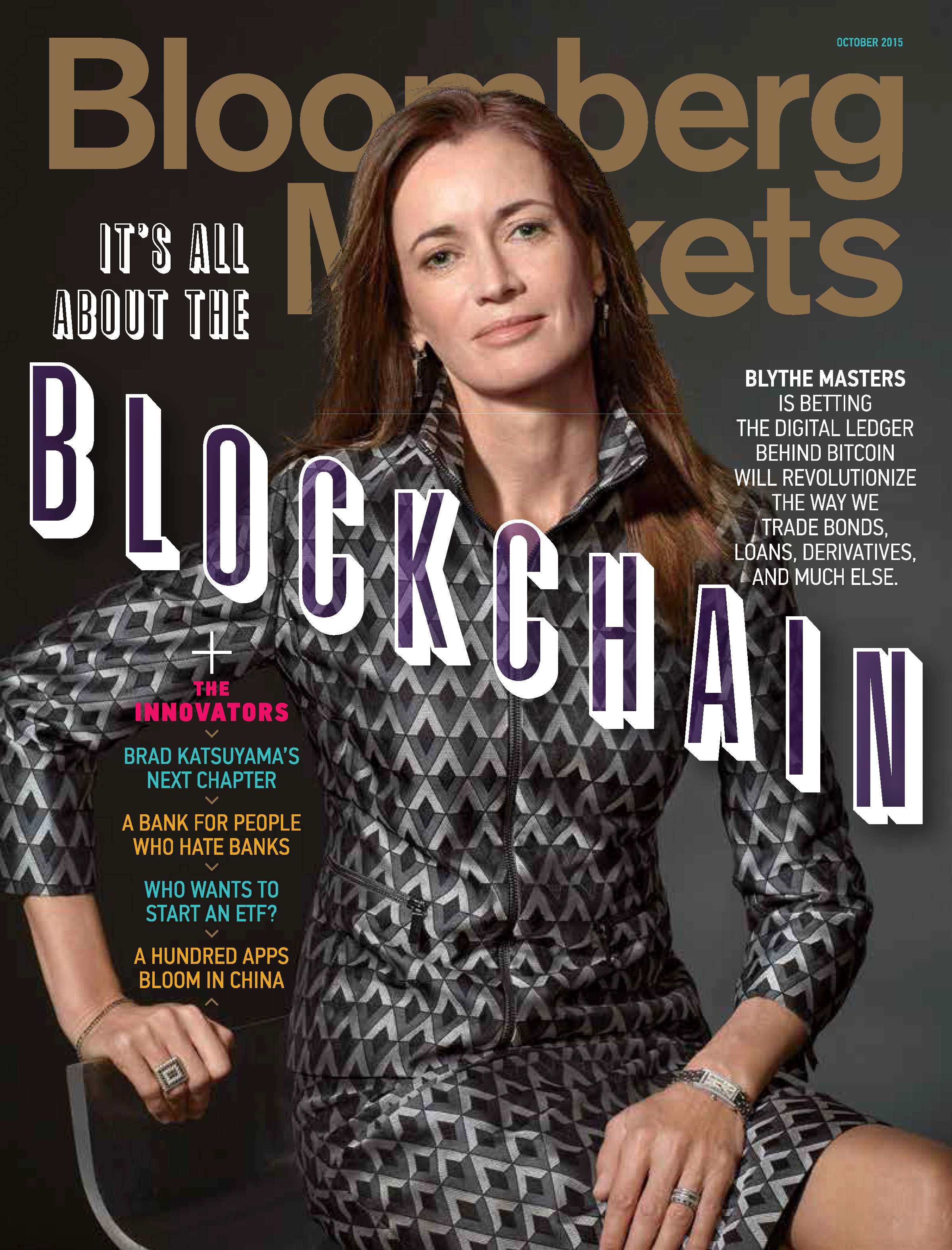 bloomberg, blockchain