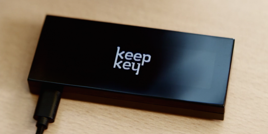 The KeepKey wallet software was originally  a fork of the Trezor, but now includes some of it's own parts. It is now for sale for $239.