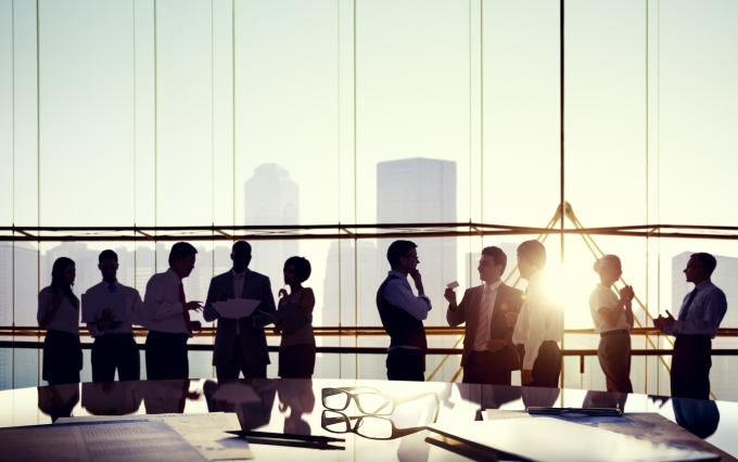 http://www.shutterstock.com/pic-174966596/stock-photo-group-of-business-people-discussing-at-sunset-reflected-onto-table-with-documents.html?src=oZm5bMoyA7s4rv4DE-69yQ-1-2
