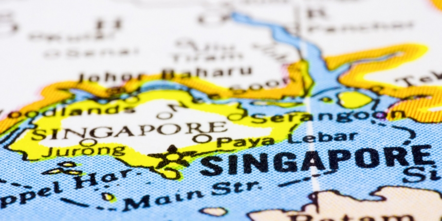 Map Of Asia Showing Singapore.Coinbase Expands To Asia With Singapore Market Launch