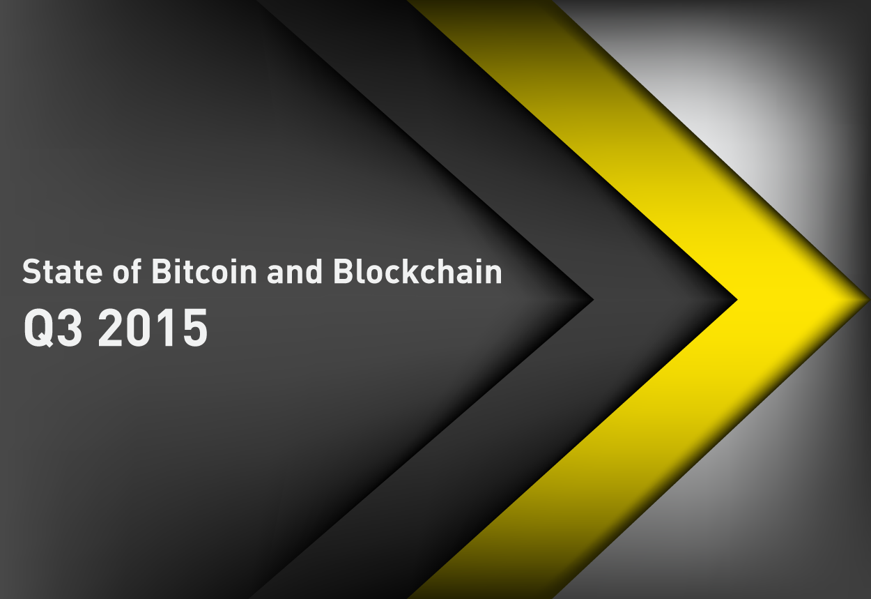 State of Bitcoin Q3 2015