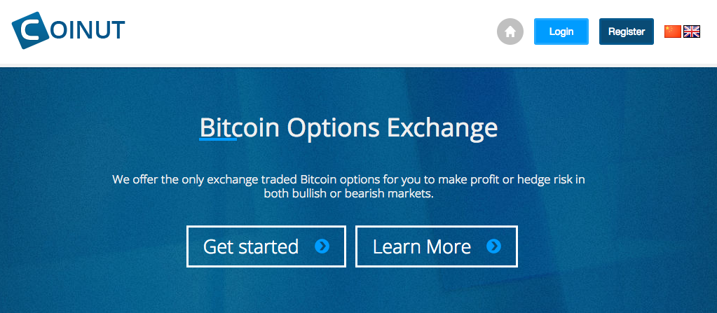 CoinUT, options