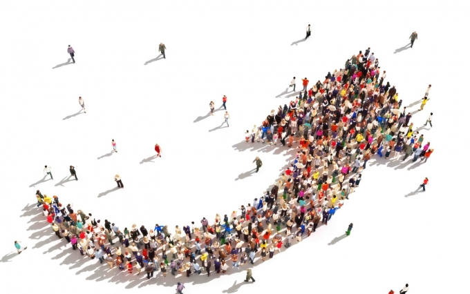 http://www.shutterstock.com/pic-200804189/stock-photo-people-with-direction-large-group-of-people-in-the-shape-of-an-arrow-pointing-up-symbolizing.html