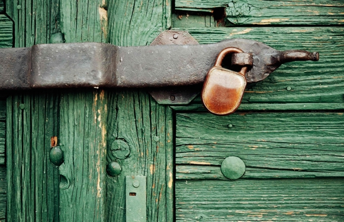 http://www.shutterstock.com/pic-229182463/stock-photo-locked-door.html