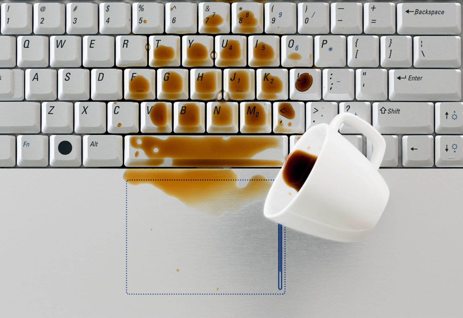 coffee, keyboard