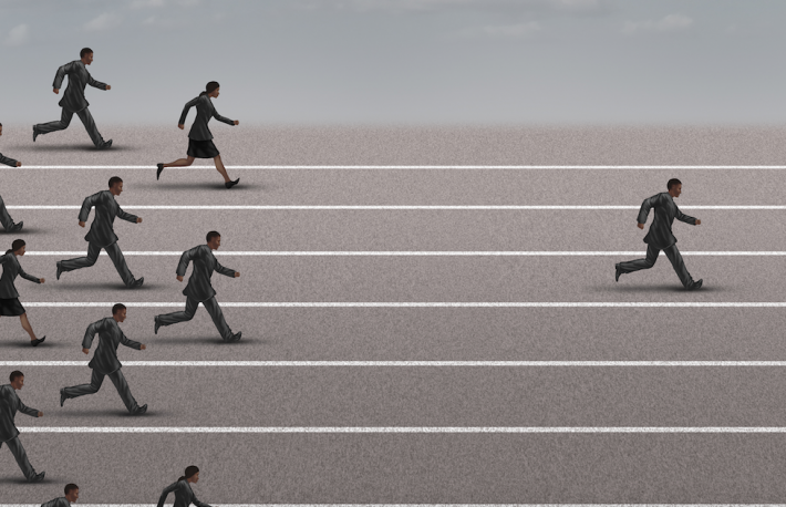http://www.shutterstock.com/pic-308404454/stock-photo-winning-the-race-business-concept-as-a-group-of-businesspeople-running-together-with-an-individual.html