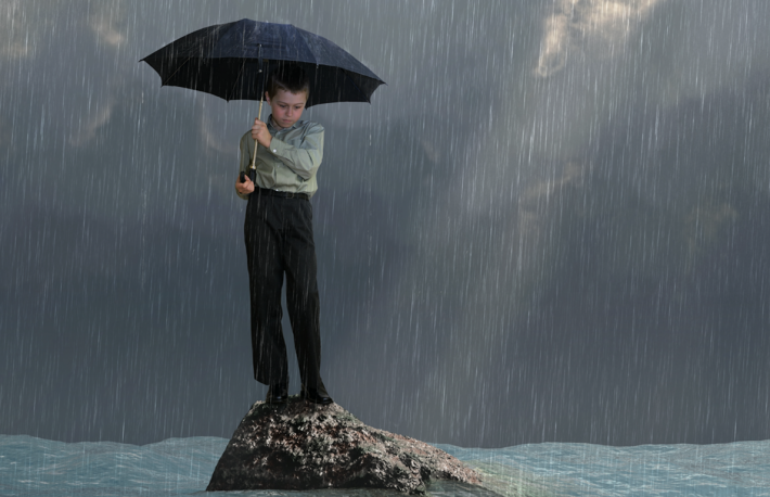 http://www.shutterstock.com/pic-133574636/stock-photo-man-with-an-umbrella-in-the-flood.html