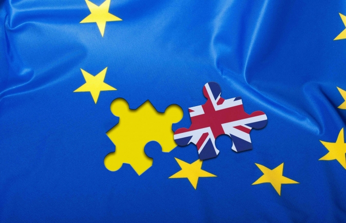 http://www.shutterstock.com/pic-338831222/stock-photo-brexit-detail-of-silky-flag-of-blue-european-union-eu-flag-drapery-with-puzzle-piece-with-great.html