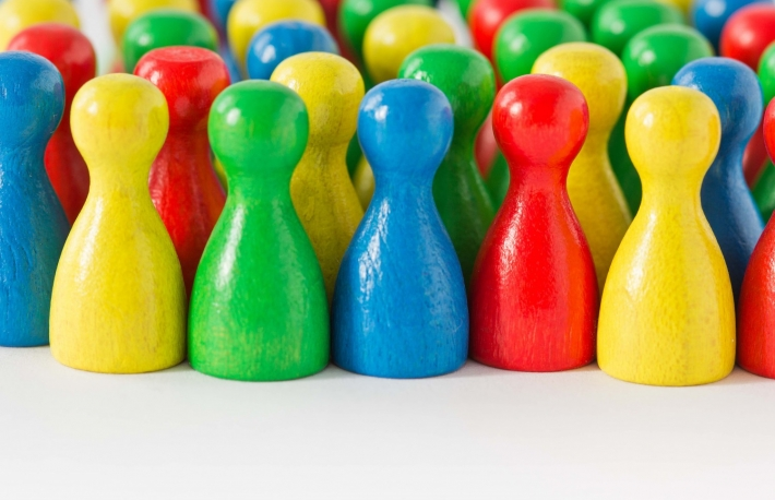 http://www.shutterstock.com/pic-160238507/stock-photo-colorful-assortment-of-game-figurines-with-room-in-front.html