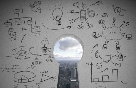 http://www.shutterstock.com/pic-149938664/stock-photo-concept-of-key-to-success-with-business-sketch.html