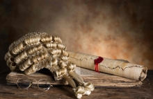http://www.shutterstock.com/pic-134513243/stock-photo-judge-s-court-wig-and-hammer-or-gavel.html