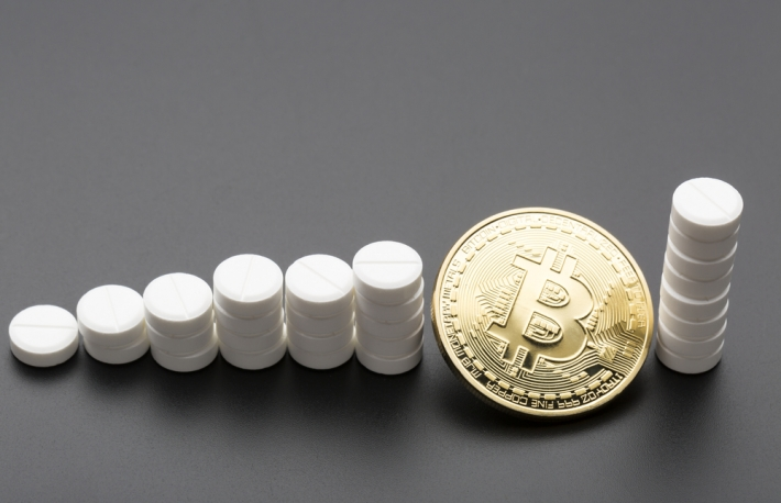 http://www.shutterstock.com/pic-368458253/stock-photo-the-cryptocurrency-bitcoin-as-a-payment-option-for-medicines-business-concept.html?src=cOIjD0432EcloNlpl2f8zA-1-1