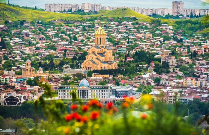 http://www.shutterstock.com/pic-279105842/stock-photo-view-of-sameba-church-from-the-hill-in-tbilisi-georgia.html?src=o97r_EJNIq4Ar58ciBN03w-1-3