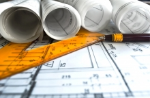 http://www.shutterstock.com/pic-192756557/stock-photo-architecture-rolls-architectural-plans-project-architect-blueprints.html