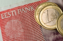 http://www.shutterstock.com/pic-48961876/stock-photo-estonian-crowns-will-turn-into-euro.html