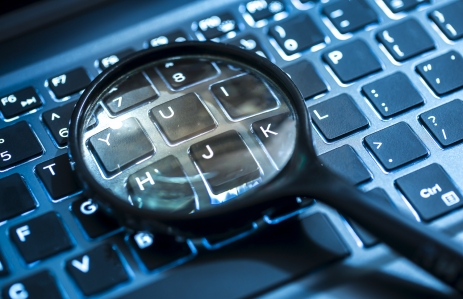 http://www.shutterstock.com/pic-353931704/stock-photo-closeup-images-of-magnifying-glass-on-laptop-keyboard-searching-online-shopping-and-business.html?src=I2m2R_6kNH8Q21r1zEhA5g-1-18