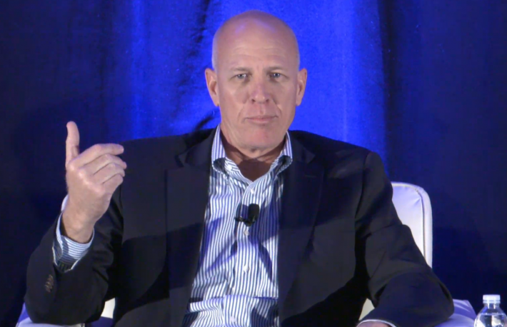 Silvergate CEO, Alan Lane, screen capture from Consensus 2016 video