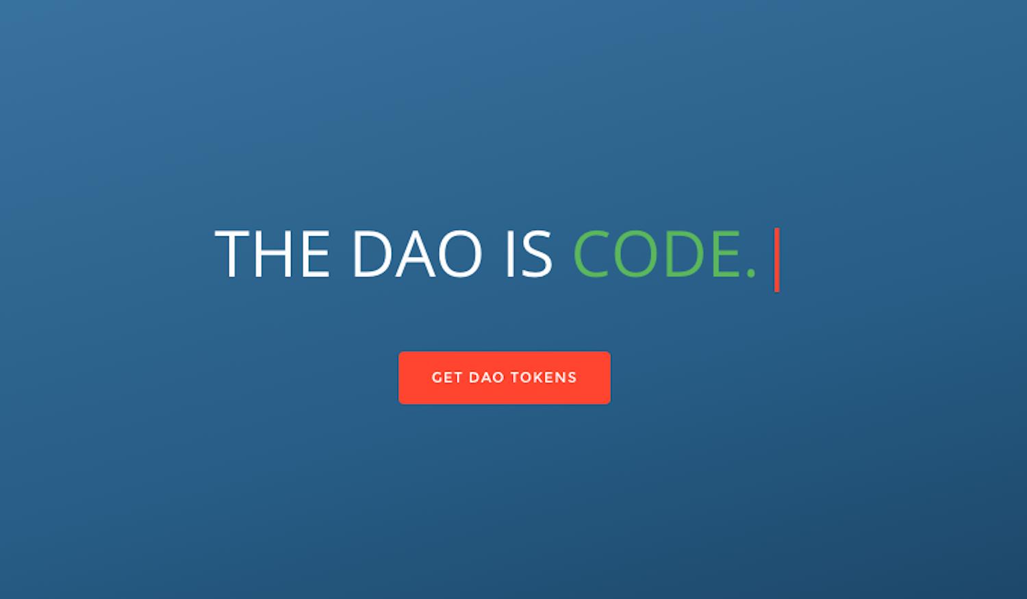 The DAO: Or How A Leaderless Ethereum Project Raised $50 Million - CoinDesk