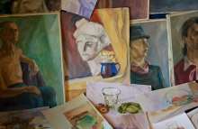 http://www.shutterstock.com/pic-123236569/stock-photo-watercolor-paintings-and-oil-paintings-art-educational-works.html