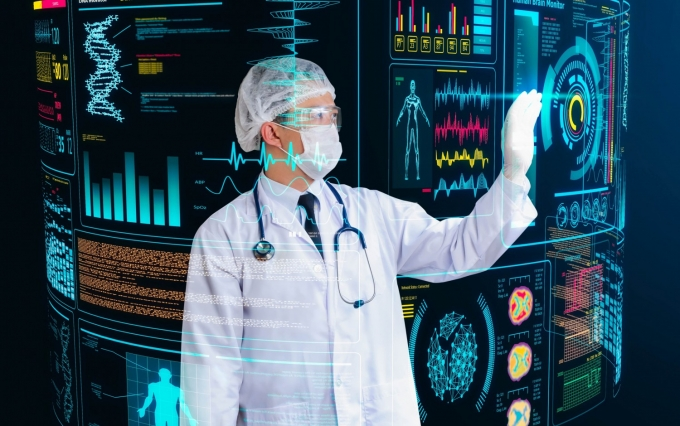 http://www.shutterstock.com/pic-256260478/stock-photo-doctor-working-with-futuristic-floating-screen.html