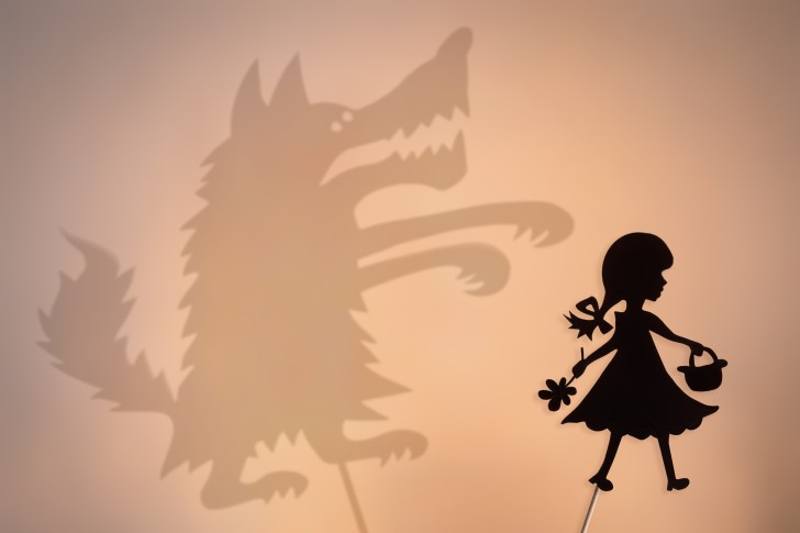wolf, red riding hood