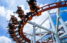 http://www.shutterstock.com/pic-161892053/stock-photo-rollercoaster-ride-with-sky-at-theme-park.html?src=fWGyS-U_VJfk7wvWa5dqJg-2-46