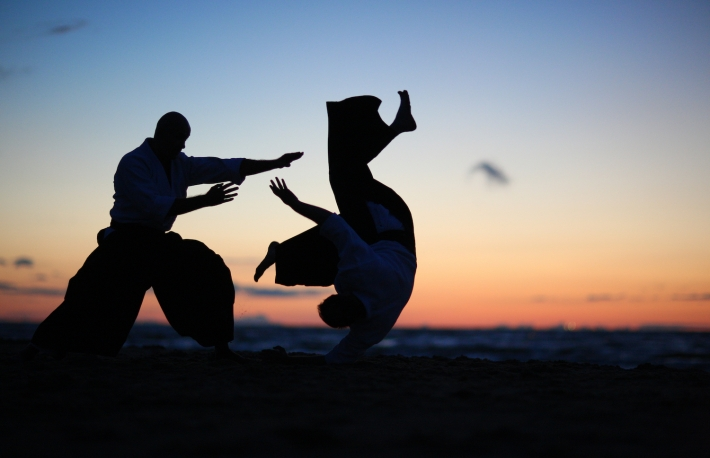 http://www.shutterstock.com/pic-218646658/stock-photo-practicing-aikido-technique-silhouettes-of-masters.html?src=_YlQ7ArARjWdIAya9PgQDg-1-82