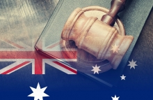 http://www.shutterstock.com/pic-375938629/stock-photo-gavel-and-legal-book-on-wooden-table-collage-with-flag-of-australia.html
