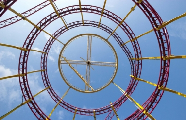 http://www.shutterstock.com/pic-365608802/stock-photo-rollercoaster-yellow-and-red.html