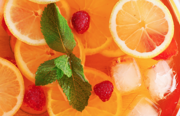 http://www.shutterstock.com/pic-292350155/stock-photo-fruity-punch-in-glass-bowl-on-wooden-table-top-view.html