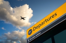 http://www.shutterstock.com/pic-192339794/stock-photo-airport-departure-amp-arrival-information-sign-with-sky.html
