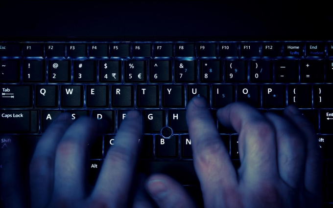 http://www.shutterstock.com/pic-261995000/stock-photo-hands-typing-on-keyboard-in-blue-light-with-motion-blur.html
