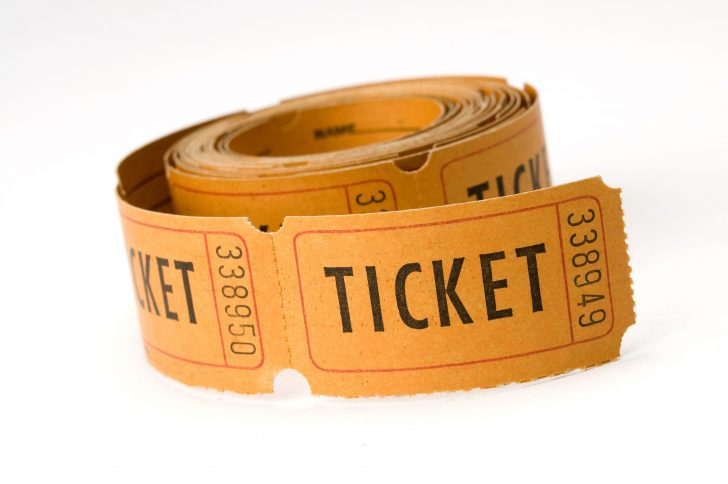 tickets, tokens