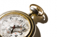 http://www.shutterstock.com/pic-10103914/stock-photo-pocket-watch-with-a-broken-crystal-isolated-on-white-dramatic-lighting-casts-a-strong-shadow-the-watch-stopped-just-after-5-time-concept.html