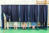voting booth, voting, election