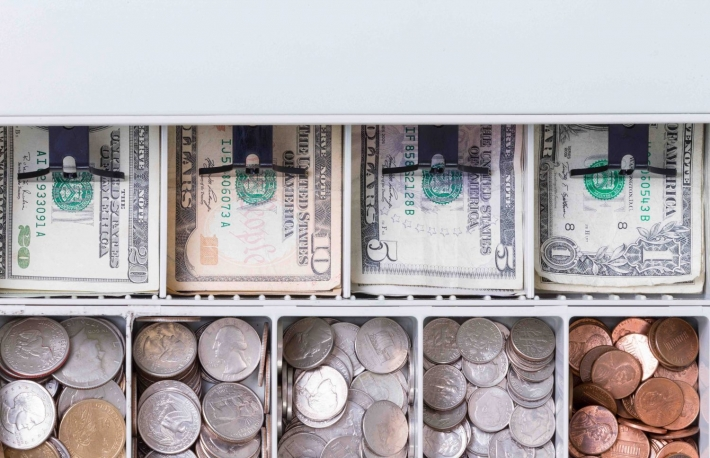 http://www.shutterstock.com/pic-467231372/stock-photo-close-up-on-american-currency-in-cash-drawer-consisting-of-pennies-dimes-nickels-quarters-and-various-paper-bills.html?src=I-j6Pk2AqkNSci9i3BsaiQ-1-24