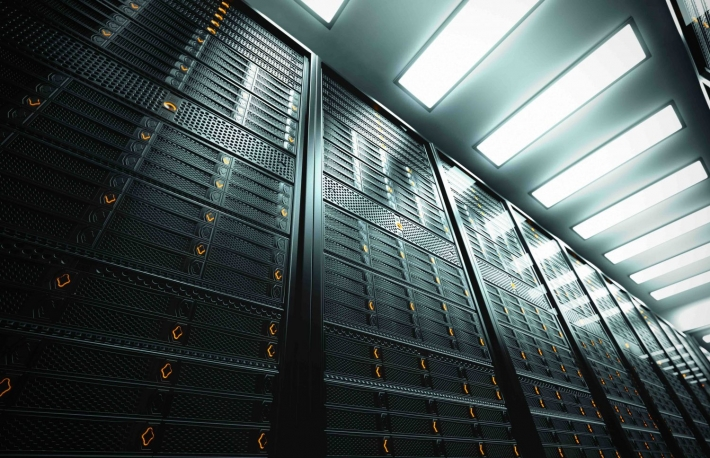 http://www.shutterstock.com/pic-141093727/stock-photo-image-presents-a-bottom-view-of-a-room-equipped-with-data-servers-yellow-led-lights-are-flashing.html?src=iy6LKsaDKKTsoVgtgfLBHw-1-41