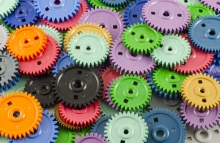 http://www.shutterstock.com/pic-89192203/stock-photo-background-of-the-plastic-different-colored-gears.html