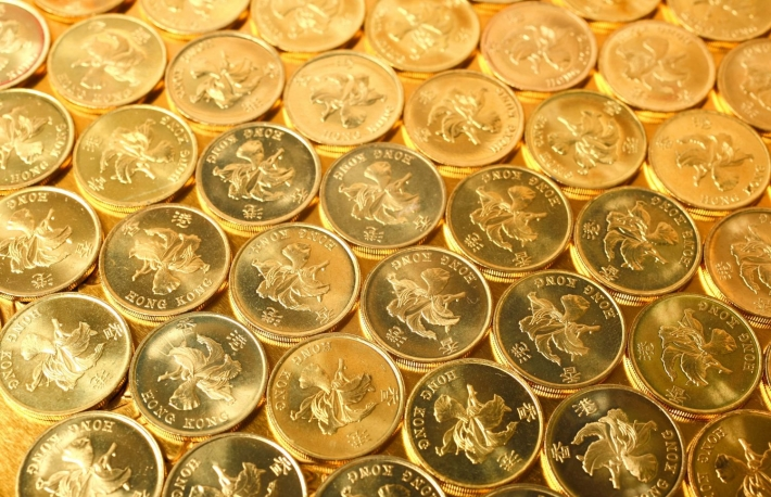 http://www.shutterstock.com/pic-51143977/stock-photo-gold-coins-hong-kong-currency-05-coins.html
