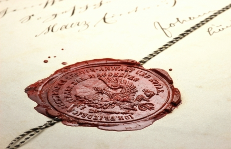 http://www.shutterstock.com/pic-359912744/stock-photo-antique-notarial-wax-seal-on-old-document.html