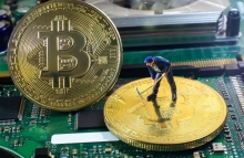 http://www.shutterstock.com/pic-460459243/stock-photo-a-little-miner-is-digging-for-bitcoin-with-graphic-card-conceptual-image-for-bitcoin-mining-and-crypto-currency.html
